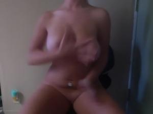 Big boobs JOI