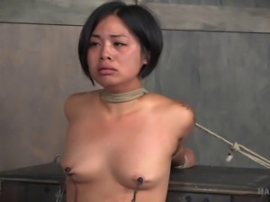 Milcah Halili tied up by her master who craves her hot body