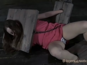 Sweet sex slave enjoys being treated to a pain sessions