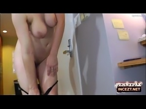 Father Surprised is Daughter Penny Pax Arriving Late
