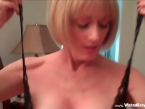 This MILF Is A Cock Slut