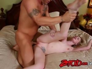 Blonde Hottie Stacie Jaxxx Gets Banged Hard