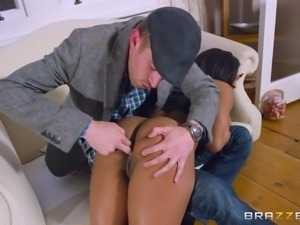 Angry mother invited Danny to punish her disobedient daughter Kiki. Danny...
