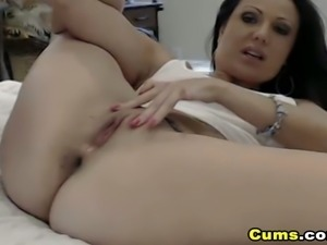 Horny Hot Babe Dildo Playtime