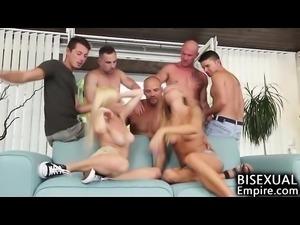 Bisexual Cum Party Orgy!