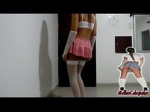 Colegialas Neiva Bailando Sensualmente | BellasColegialas.info