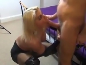 British Muscle Escort gets a Cumshot