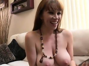 Milky skin babe gets her hairy muff fucked hardcore