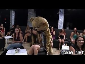 Dancing bear bj
