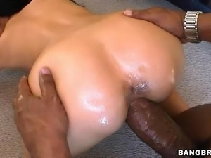 Smoking Hot Brunette Gets Fucked by a Monster Cock Just to Please God