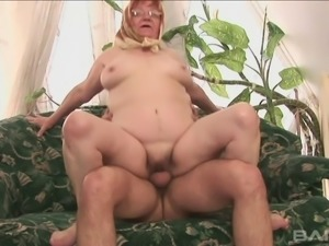 Chubby grandma fucked just like in her younger days