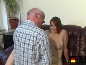 Jung Milf with the old men