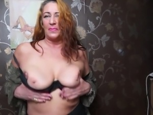 Dirty granny with big sex appetite