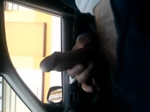 Public dick car flash with cum 29 - She looks