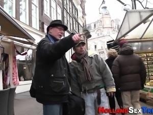 Dutch prostitute bounces