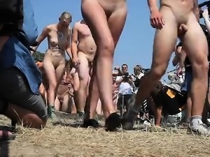 World-Euro-Danish & Nude People On Roskilde Festival 2010
