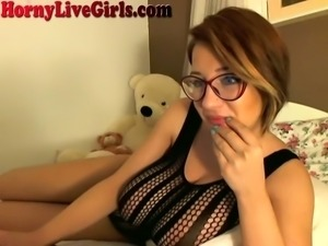 It's fascinating how sexy this camgirl is and her boobs are a beautiful thing