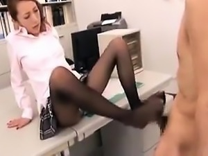 nylons and foot fetish