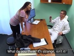 Natural huge tits bbw bangs in hospital