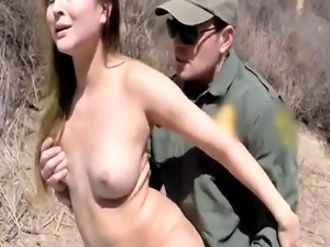 British mature police Guy romped her mouth  her tight pussy  and even
