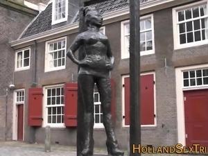 Ebony dutch hooker fucked