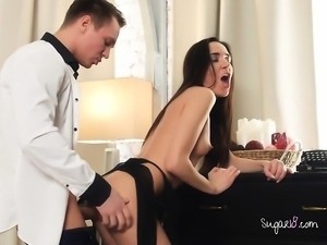 Professional Hoe Kerry Cherry Gets Boned By Hung Client