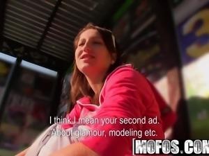 Mofos - Public Pick Ups - Pose, Suck then Fuck starring  Tes