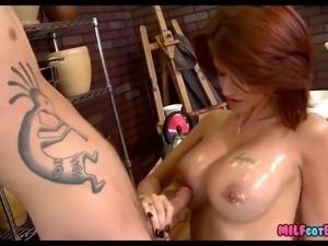 Redhead MILF is Hot as Fuck