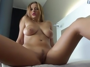 Stunning Busty German threesome