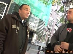 Dutch prostitutes spunked