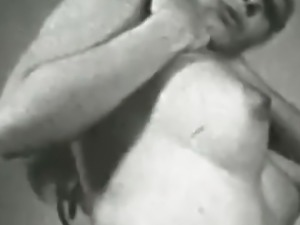 Marvelous Blonde and Her Sexy Body (1960s Vintage)