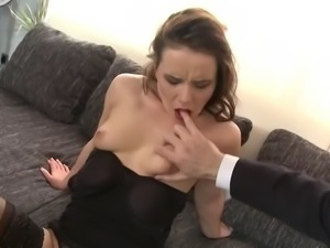 Top sex bombs MILFs banged by boys
