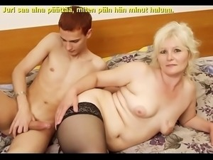 Slideshow with Finnish Captions: Mom Lena 2