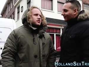 Real dutch prozzie banged