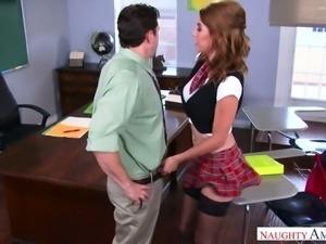 Slim coed Cece Capella is not a pretender and she fucks like a good slut