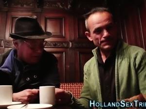 Dutch prostitute sucks