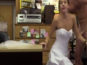 Girl fucks bf with strap on A bride's revenge!