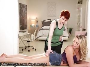AllGirlMassage Mia Malkova Lesbian Ass Licked