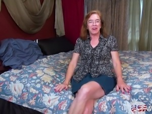 Older granny hairy pussy masturbation and adult toys abusing
