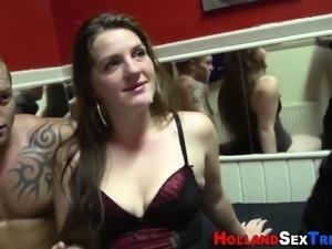 Dutch prostitute spunky