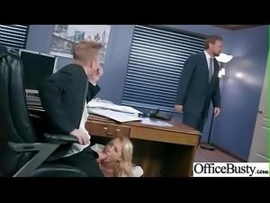 Hard Sex With Naughty Sexy Big Round Boobs Office Girl (Alix Lynx) movie-02