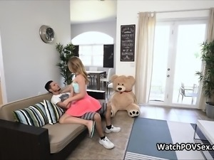 Bubble butt gf cheats on video