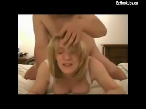 blonde mom pickup up cum fed stepmom swallow fucked