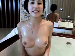 Chinese female taking a bath - More on SexCamMedia com