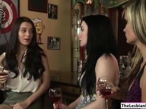 Lana Rhoades licks Verucas fat pussy